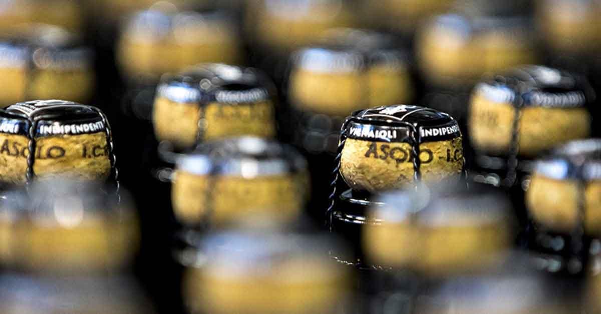 Bottiglie di prosecco Asolo Docg Bele Casel