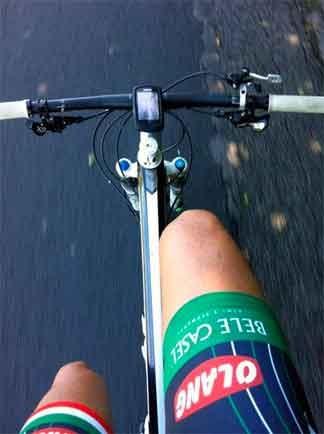 bicicletta di Luca Ferraro